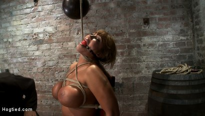 Photo number 10 from Classic Hogtied<br>Big Titted MILF in the chair<br>Orgasm after Orgasm no Mercy shot for Hogtied on Kink.com. Featuring Ava Devine in hardcore BDSM & Fetish porn.