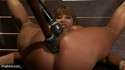 Photo number 11 from Big Titted MILF <br>Made to squirt all over herself shot for Hogtied on Kink.com. Featuring Ava Devine in hardcore BDSM & Fetish porn.
