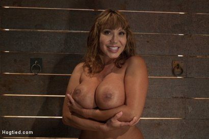 Photo number 15 from Big Titted MILF <br>Made to squirt all over herself shot for Hogtied on Kink.com. Featuring Ava Devine in hardcore BDSM & Fetish porn.