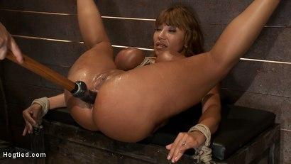 Photo number 7 from Big Titted MILF <br>Made to squirt all over herself shot for Hogtied on Kink.com. Featuring Ava Devine in hardcore BDSM & Fetish porn.