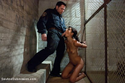 Photo number 8 from Foreign Lands shot for Sex And Submission on Kink.com. Featuring Mark Davis, Lou Charmelle and John Strong in hardcore BDSM & Fetish porn.