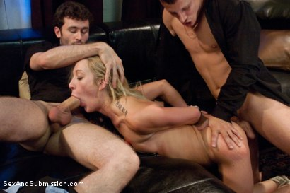 Photo number 7 from Extreme Kinky Date shot for Sex And Submission on Kink.com. Featuring James Deen, Mr. Pete and Amy Brooke in hardcore BDSM & Fetish porn.