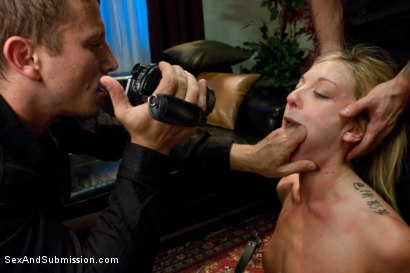 Photo number 6 from Extreme Kinky Date shot for Sex And Submission on Kink.com. Featuring James Deen, Mr. Pete and Amy Brooke in hardcore BDSM & Fetish porn.