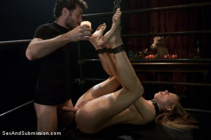 Photo number 10 from New Addiction shot for Sex And Submission on Kink.com. Featuring James Deen and Cali Lakai in hardcore BDSM & Fetish porn.