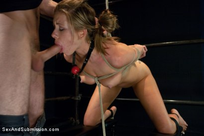 Photo number 7 from New Addiction shot for Sex And Submission on Kink.com. Featuring James Deen and Cali Lakai in hardcore BDSM & Fetish porn.