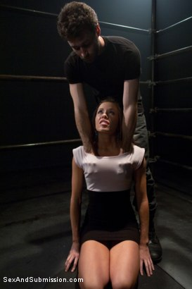 Photo number 1 from New Addiction shot for Sex And Submission on Kink.com. Featuring James Deen and Cali Lakai in hardcore BDSM & Fetish porn.