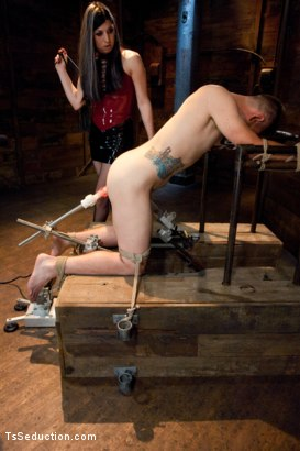 Photo number 5 from Play things  shot for TS Seduction on Kink.com. Featuring Aly Sinclair and John Jammen in hardcore BDSM & Fetish porn.