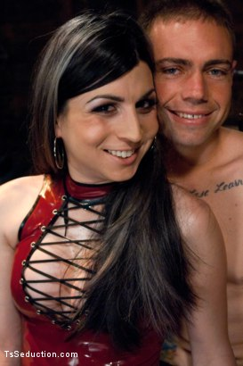 Photo number 1 from Play things  shot for TS Seduction on Kink.com. Featuring Aly Sinclair and John Jammen in hardcore BDSM & Fetish porn.