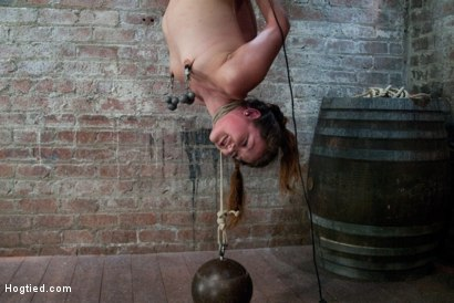 Photo number 14 from So Innocent, So Helpless, So many Orgasms.  shot for Hogtied on Kink.com. Featuring Allie Haze in hardcore BDSM & Fetish porn.