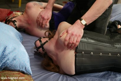 Photo number 2 from Lorelei Lee and Adrianna Nicole shot for Hogtied on Kink.com. Featuring Lorelei Lee and Adrianna Nicole in hardcore BDSM & Fetish porn.