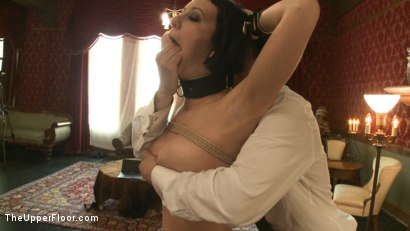 Photo number 13 from Service Session: Shoe Polishing 101 shot for The Upper Floor on Kink.com. Featuring Cherry Torn and Bella Rossi in hardcore BDSM & Fetish porn.