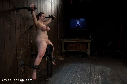 Photo number 3 from She's Coming for Yooouuuuuuuu! shot for Device Bondage on Kink.com. Featuring Bella Rossi in hardcore BDSM & Fetish porn.