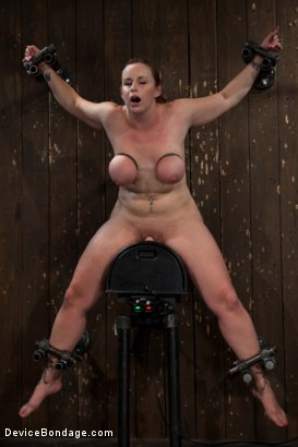 Photo number 8 from She's Coming for Yooouuuuuuuu! shot for Device Bondage on Kink.com. Featuring Bella Rossi in hardcore BDSM & Fetish porn.