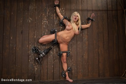 Photo number 12 from Big Swinging Boobs!<br>Big shot for Device Bondage on Kink.com. Featuring Lylith Lavey in hardcore BDSM & Fetish porn.