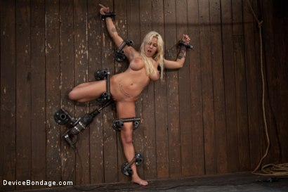 Photo number 13 from Big Swinging Boobs!<br>Big shot for Device Bondage on Kink.com. Featuring Lylith Lavey in hardcore BDSM & Fetish porn.