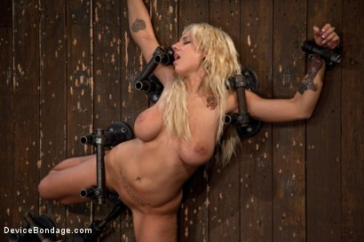 Photo number 14 from Big Swinging Boobs!<br>Big shot for Device Bondage on Kink.com. Featuring Lylith Lavey in hardcore BDSM & Fetish porn.