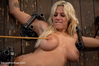Photo number 5 from Big Swinging Boobs!<br>Big shot for Device Bondage on Kink.com. Featuring Lylith Lavey in hardcore BDSM & Fetish porn.