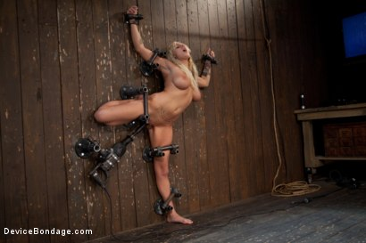 Photo number 8 from Big Swinging Boobs!<br>Big shot for Device Bondage on Kink.com. Featuring Lylith Lavey in hardcore BDSM & Fetish porn.