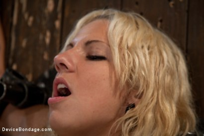 Photo number 9 from Big Swinging Boobs!<br>Big shot for Device Bondage on Kink.com. Featuring Lylith Lavey in hardcore BDSM & Fetish porn.