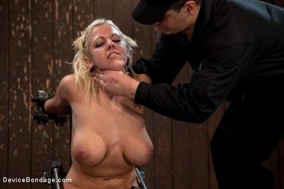 Photo number 12 from Slave 4 U shot for Device Bondage on Kink.com. Featuring Lylith Lavey in hardcore BDSM & Fetish porn.
