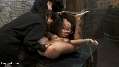 Photo number 15 from Squirt Fest 2010<br>Like a Fucking Fountain! shot for Hogtied on Kink.com. Featuring Gia DiMarco in hardcore BDSM & Fetish porn.