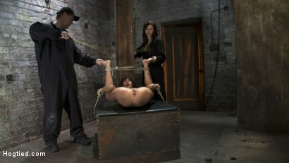 Photo number 6 from Squirt Fest 2010<br>Like a Fucking Fountain! shot for Hogtied on Kink.com. Featuring Gia DiMarco in hardcore BDSM & Fetish porn.