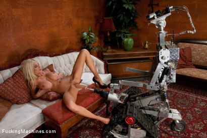 Photo number 9 from SWEDISH MILF <br> Overwhelmed by metal shot for Fucking Machines on Kink.com. Featuring Puma Swede in hardcore BDSM & Fetish porn.