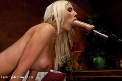 Photo number 8 from SWEDISH MILF <br> Overwhelmed by metal shot for Fucking Machines on Kink.com. Featuring Puma Swede in hardcore BDSM & Fetish porn.