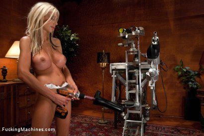 Photo number 15 from Annihilating and Milking the Swedish MILF shot for Fucking Machines on Kink.com. Featuring Puma Swede in hardcore BDSM & Fetish porn.