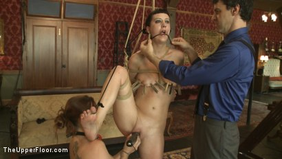 Photo number 11 from Member Request: Slapping Torn shot for The Upper Floor on Kink.com. Featuring Cherry Torn and Bella Rossi in hardcore BDSM & Fetish porn.