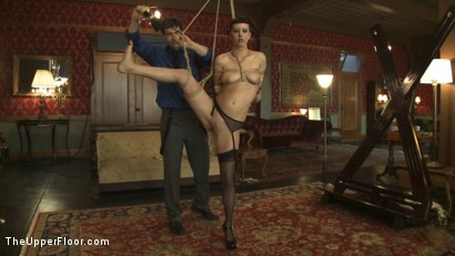 Photo number 6 from Member Request: Slapping Torn shot for The Upper Floor on Kink.com. Featuring Cherry Torn and Bella Rossi in hardcore BDSM & Fetish porn.
