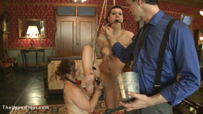 Photo number 9 from Member Request: Slapping Torn shot for The Upper Floor on Kink.com. Featuring Cherry Torn and Bella Rossi in hardcore BDSM & Fetish porn.