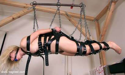Photo number 12 from Inka shot for Hogtied on Kink.com. Featuring Inka in hardcore BDSM & Fetish porn.