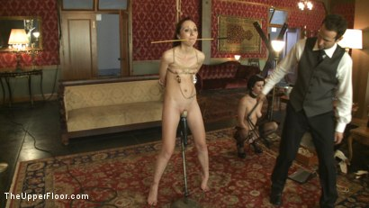Photo number 5 from Fresh Meat: Emma Haize shot for The Upper Floor on Kink.com. Featuring Cherry Torn and Emma Haize in hardcore BDSM & Fetish porn.