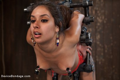 "Photo number 5 from ""Can't stop, cumming...."" shot for Device Bondage on Kink.com. Featuring Jynx Maze in hardcore BDSM & Fetish porn."