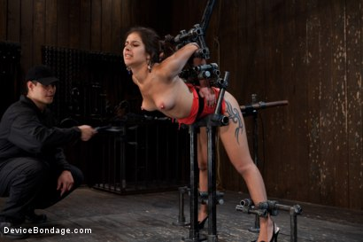 "Photo number 9 from ""Can't stop, cumming...."" shot for Device Bondage on Kink.com. Featuring Jynx Maze in hardcore BDSM & Fetish porn."