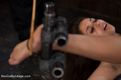 Photo number 15 from So Spread, So Fucked, So Helpless shot for Device Bondage on Kink.com. Featuring Jynx Maze in hardcore BDSM & Fetish porn.