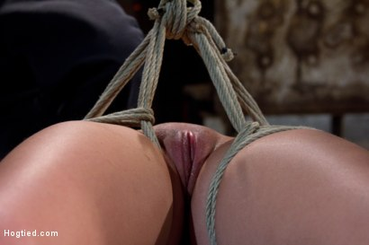 Photo number 8 from Girl next door suffers<br>Category 5 Suspension<br> Extreme Orgasms to sub-space. shot for Hogtied on Kink.com. Featuring Brooke Lee Adams in hardcore BDSM & Fetish porn.