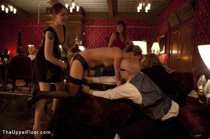 Photo number 3 from Topless Tapas shot for The Upper Floor on Kink.com. Featuring Cherry Torn, Bella Rossi, Gia DiMarco, Jessie Cox and Sarah Shevon in hardcore BDSM & Fetish porn.