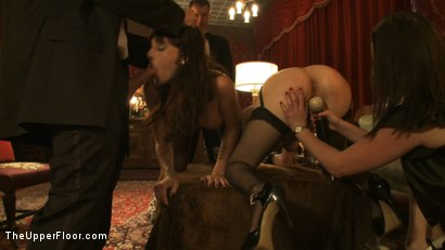 Photo number 12 from Topless Tapas shot for The Upper Floor on Kink.com. Featuring Cherry Torn, Bella Rossi, Gia DiMarco, Jessie Cox and Sarah Shevon in hardcore BDSM & Fetish porn.