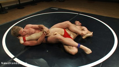 Photo number 1 from Muscled hunks duke it out in the gym, loser takes it in the ass! shot for Naked Kombat on Kink.com. Featuring Paul Wagner and James Gates in hardcore BDSM & Fetish porn.