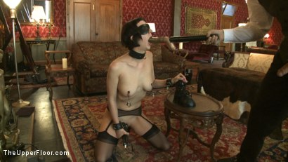 Photo number 10 from Slave torn is Stuffed and Whipped shot for The Upper Floor on Kink.com. Featuring Cherry Torn in hardcore BDSM & Fetish porn.