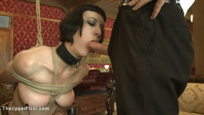 Photo number 8 from Slave torn is Stuffed and Whipped shot for The Upper Floor on Kink.com. Featuring Cherry Torn in hardcore BDSM & Fetish porn.