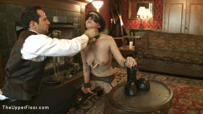 Photo number 9 from Slave torn is Stuffed and Whipped shot for The Upper Floor on Kink.com. Featuring Cherry Torn in hardcore BDSM & Fetish porn.