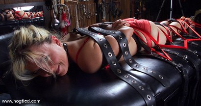 Photo number 15 from Mistress Kira Veritas and Eve shot for Hogtied on Kink.com. Featuring Mistress Kira Veritas and Eve in hardcore BDSM & Fetish porn.