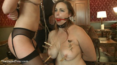 Photo number 15 from THE FINER POINTS OF CORPORAL PUNISHMENT shot for The Upper Floor on Kink.com. Featuring Cherry Torn and Bella Rossi in hardcore BDSM & Fetish porn.