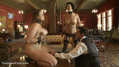 Photo number 7 from THE FINER POINTS OF CORPORAL PUNISHMENT shot for The Upper Floor on Kink.com. Featuring Cherry Torn and Bella Rossi in hardcore BDSM & Fetish porn.