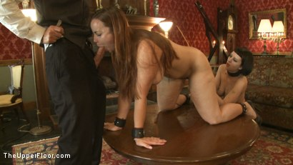 Photo number 12 from THE FINER POINTS OF CORPORAL PUNISHMENT shot for The Upper Floor on Kink.com. Featuring Cherry Torn and Bella Rossi in hardcore BDSM & Fetish porn.