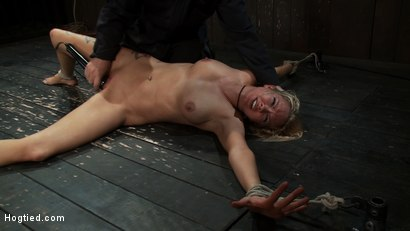 Photo number 12 from Never in the history of Kink has anything like this been attempted!<br>Complete Orgasms destruction! shot for Hogtied on Kink.com. Featuring Rain DeGrey and Isis Love in hardcore BDSM & Fetish porn.