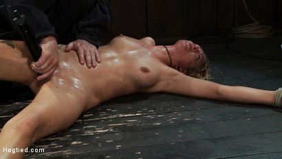 Photo number 15 from Never in the history of Kink has anything like this been attempted!<br>Complete Orgasms destruction! shot for Hogtied on Kink.com. Featuring Rain DeGrey and Isis Love in hardcore BDSM & Fetish porn.